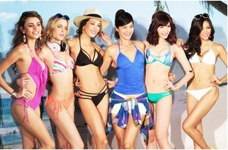 2015SS Voda Swim美胸神器 螢光色系 X 性感印花 X 混搭新風格 Janet帶妳 Up出你的自信與美麗!