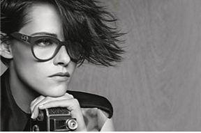 【高手娛樂】暮光女Kristen Stewart擔任Chanel 2015春夏眼鏡系列作品代言人