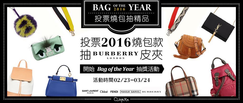 投票2016燒包款 抽Burberry皮夾