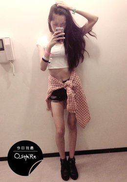 今日我最OSHa'Re_1003. 李安婕個人頁面>>http://www.oshare.com.tw/u/popomay1