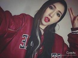 長髮飄飄紅唇💋