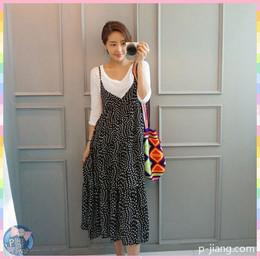 碎花連身裙 洋裝 禮服 k0428 sby4176779047 韓國連線 P醬shop 代購 stylebyyam