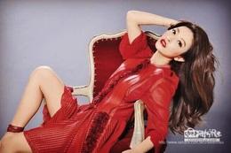 我喜歡這季LV 紅色拼接針織洋裝~「紅」的好美~謝謝《時報》讓我有機會穿到她~!💃🏻💃🏻💃🏻👈🏼有沒有像!哈哈哈!