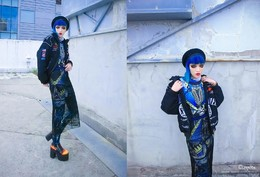 WEDNESDAY STYLE INVASION – there was a small, dark jewel inside my skull, learning to be me