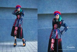 WEDNESDAY STYLE INVASION – tongue is the red devil