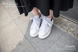 寬寬厚底鞋,穿起來好瘦♥